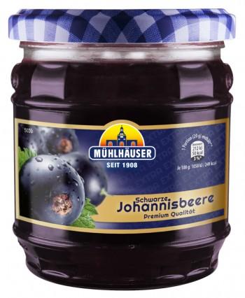 Extra-Konfitüre - Johannisbeer Schwarz, 450 g