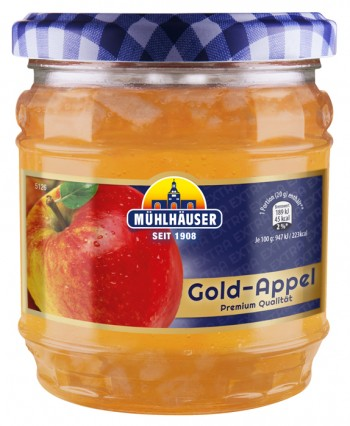 Extra-Konfitüre - Goldappel, 450 g