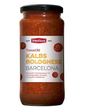 HELIOS TomatOlé Kalbsbolognese Barcelona