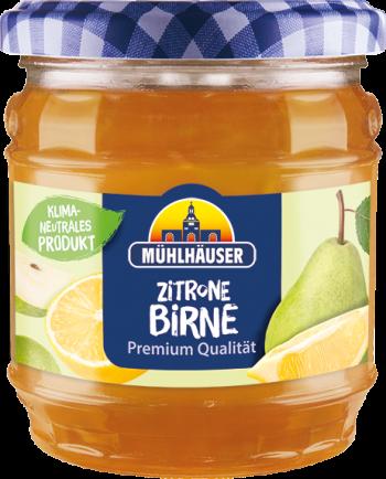 Extra-Konfitüre – Zitrone-Birne, 450 g