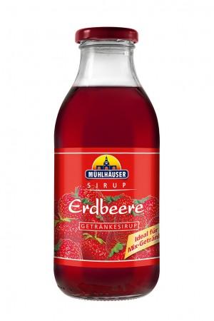 Sirup Erdbeere