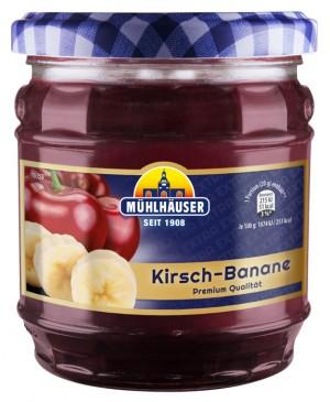 Extra-Konfitüre – Kirsch-Banane (KiBa), 450 g