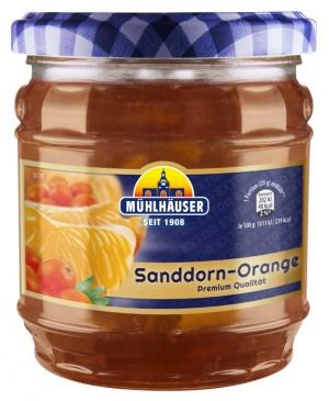 Extra-Konfitüre – Sanddorn-Orange, 450 g