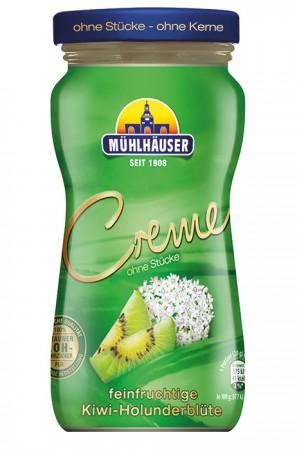 Creme Kiwi-Holunderblüte