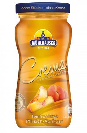 Creme Pfirsich-Aprikose