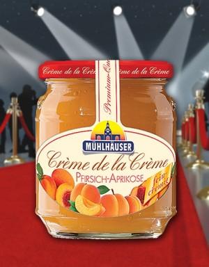 Crème de la Crème Pfirsich-Aprikose