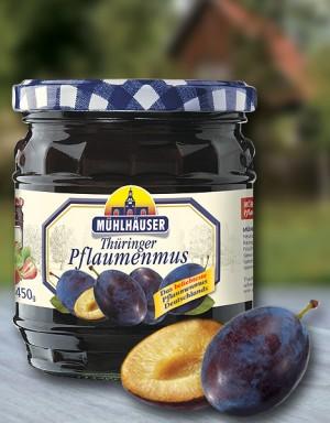 Orig. Thüringer Pflaumenmus (gewürzt), 450 g